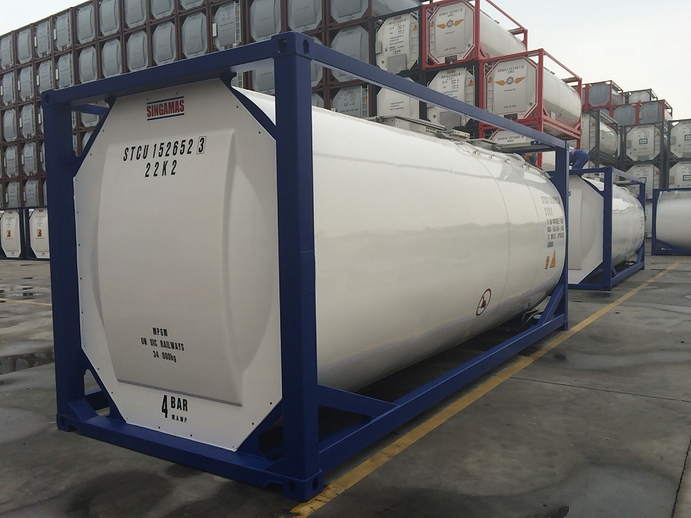 Singamas - stock tank containers 26.000 litre flaxfield