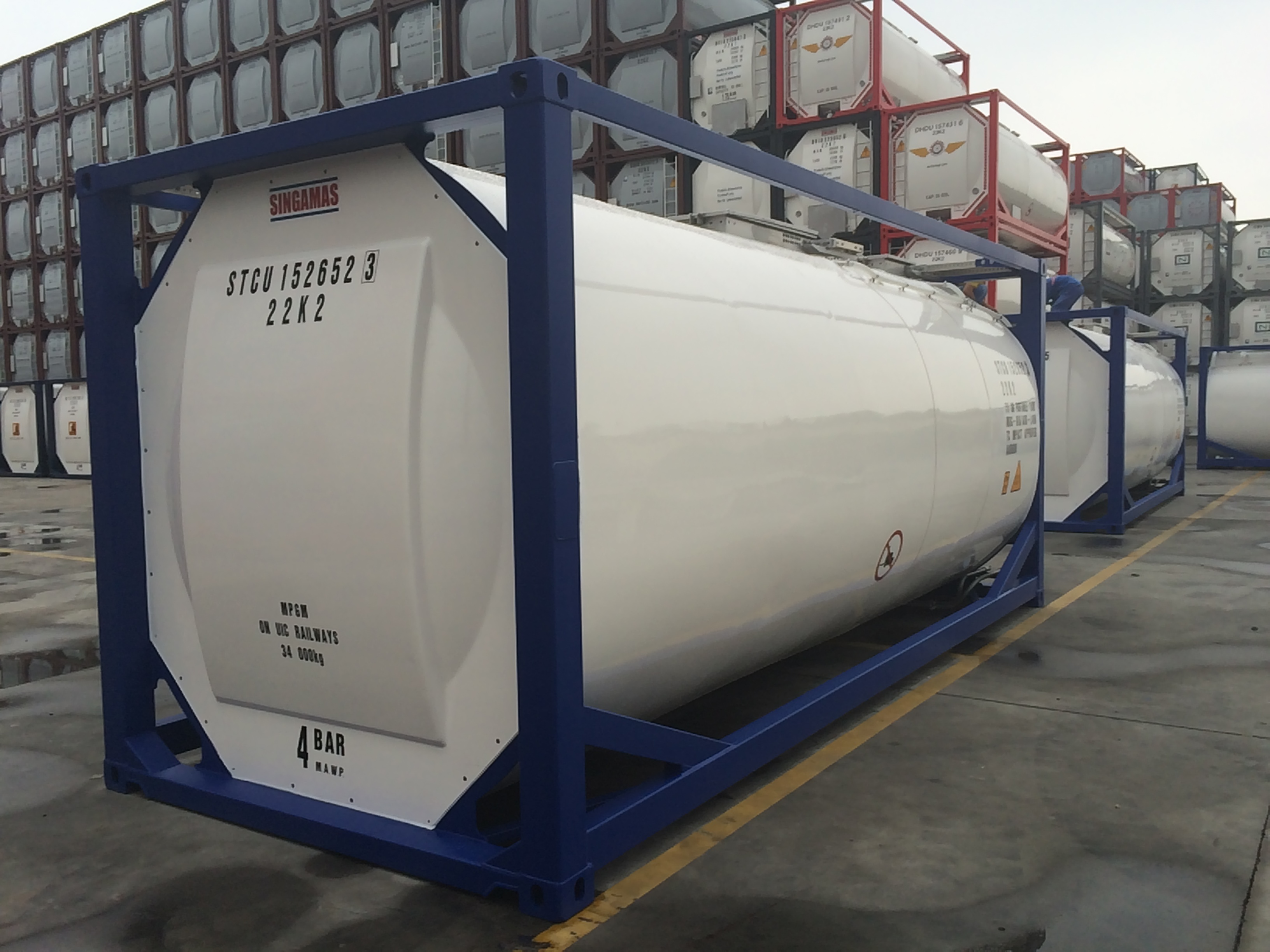 Stock tank container 26.000 litre IMO-1/T11