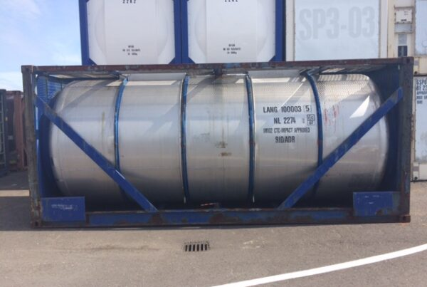 24.000 litre IMO-2/T11 used tank container