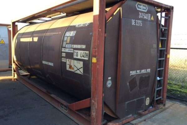 24.000 litre IMO-1/T11 used tank container ex stock