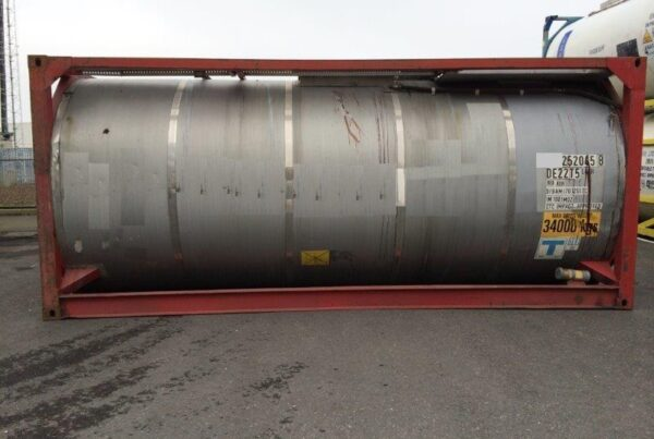 25.000 litre IMO-2/L4CH tank container