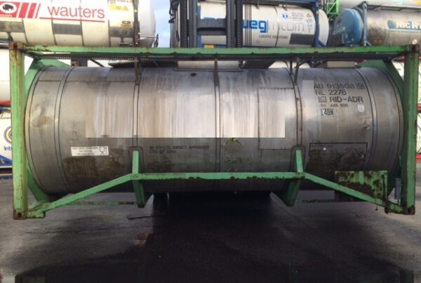 17.000 litre IMO-1/T11 used tank container