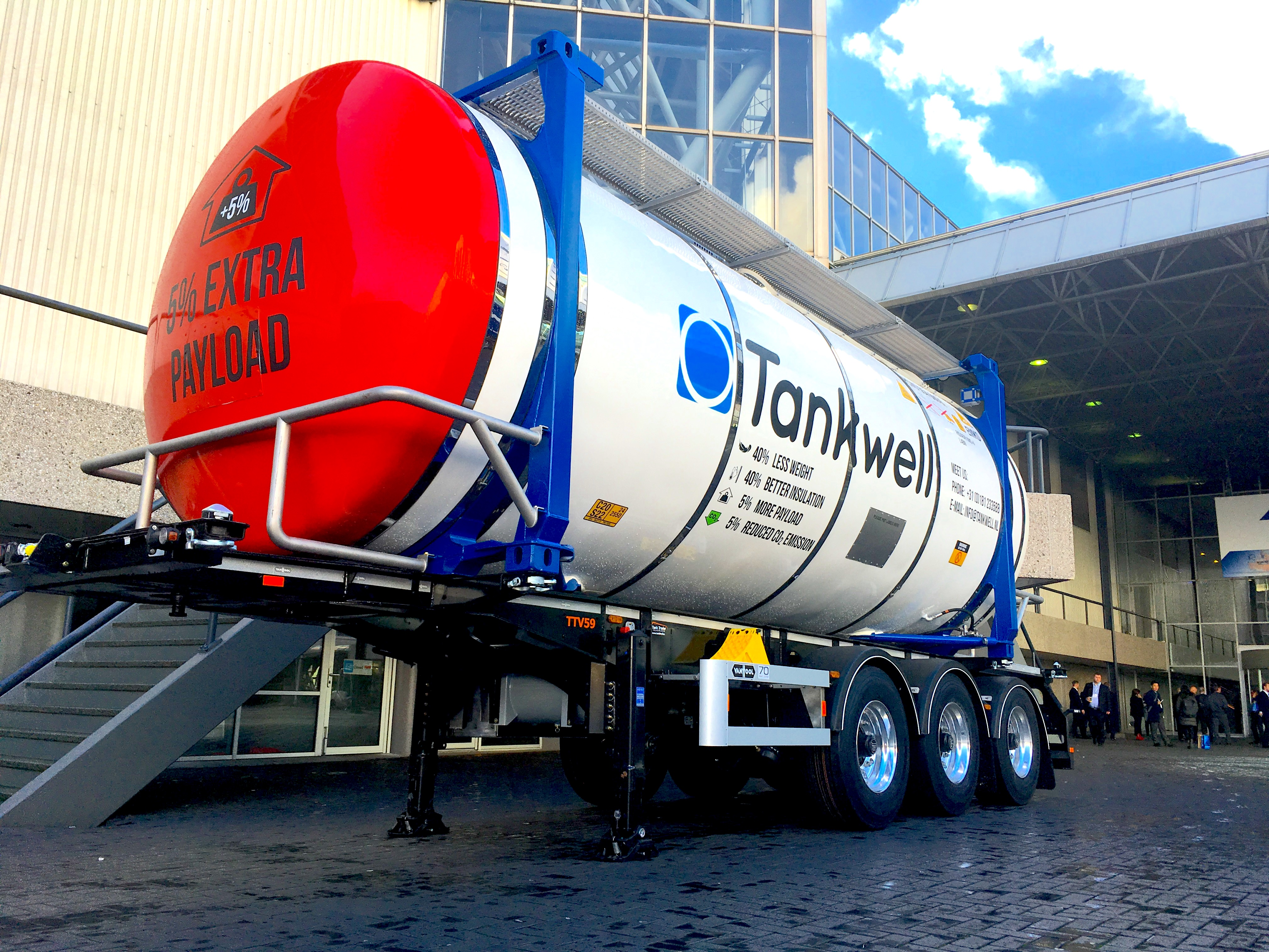 Tankwell, present at Intermodal show in Amsterdam, 28-30 November 2017